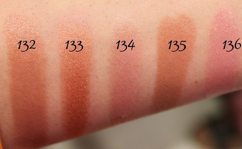 MAC Lipstick Swatches 35