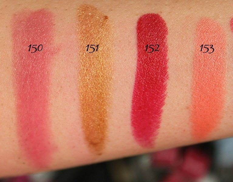 MAC Lipstick Swatches 39