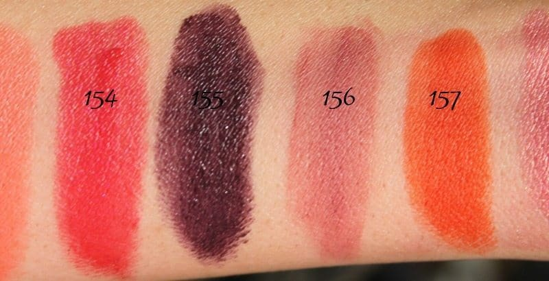 MAC Lipstick Swatches 41