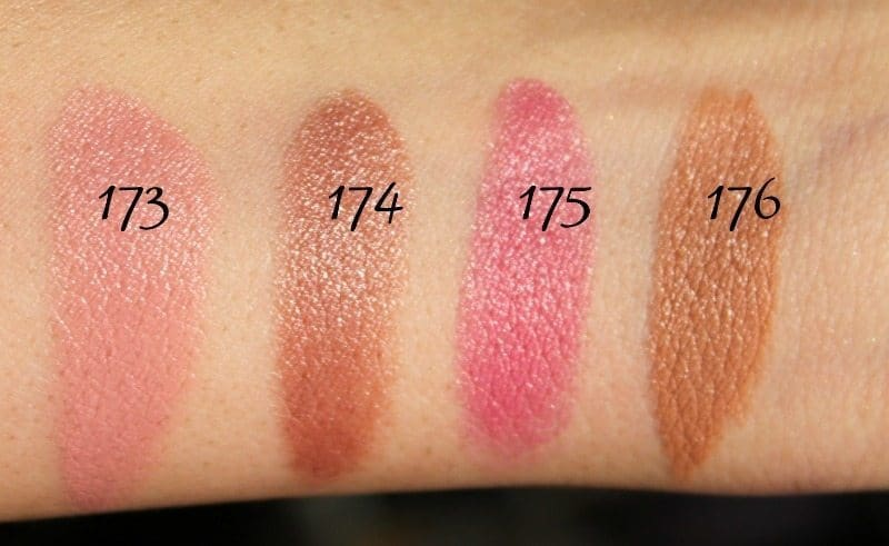 MAC Lipstick Swatches 47