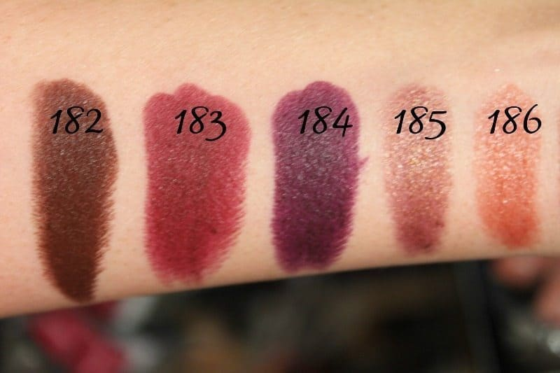 MAC Lipstick Swatches 49