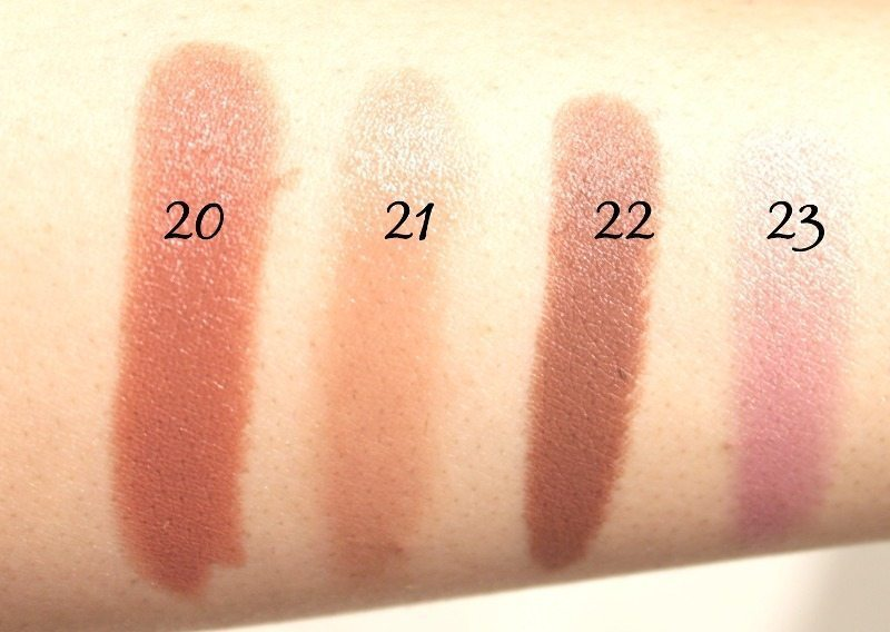 MAC Lipstick Swatches 8