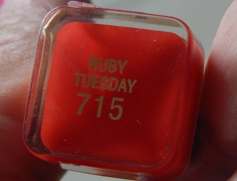 Max Factor Color Elixir Lipstick Ruby Tuesday 715 Review