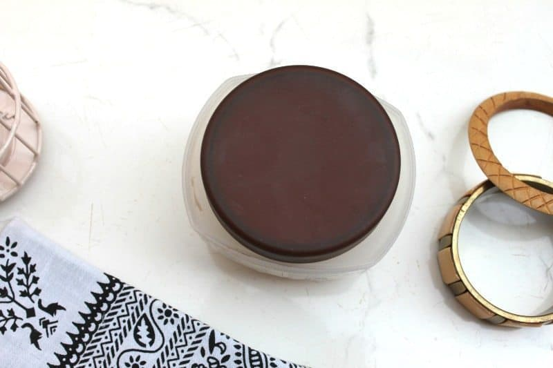 Nature's co chocolate mint body butter review 1
