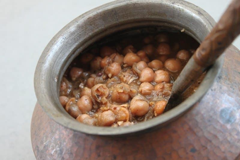 Pindi Chana Chickpea Recipe 12