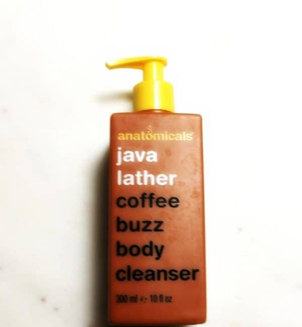 anatmicals java lather coffe buzz body cleanser review