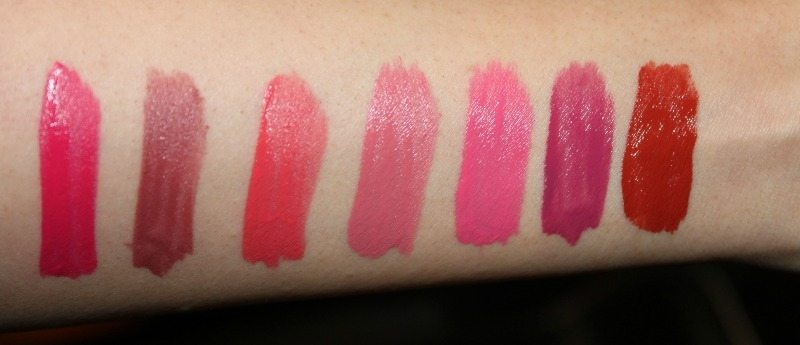 colorbar kiss proof lipstick swatches 3