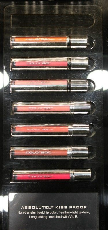 colorbar kiss proof lipstick swatches 4