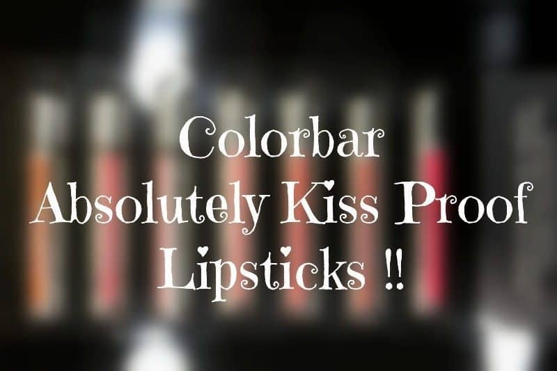 colorbar kiss proof lipstick swatches 6