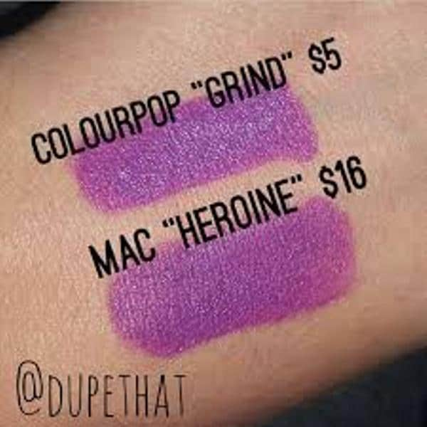 MAC heroine dupes