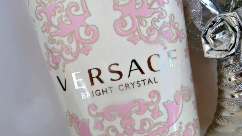 versace bright crystal body lotion review