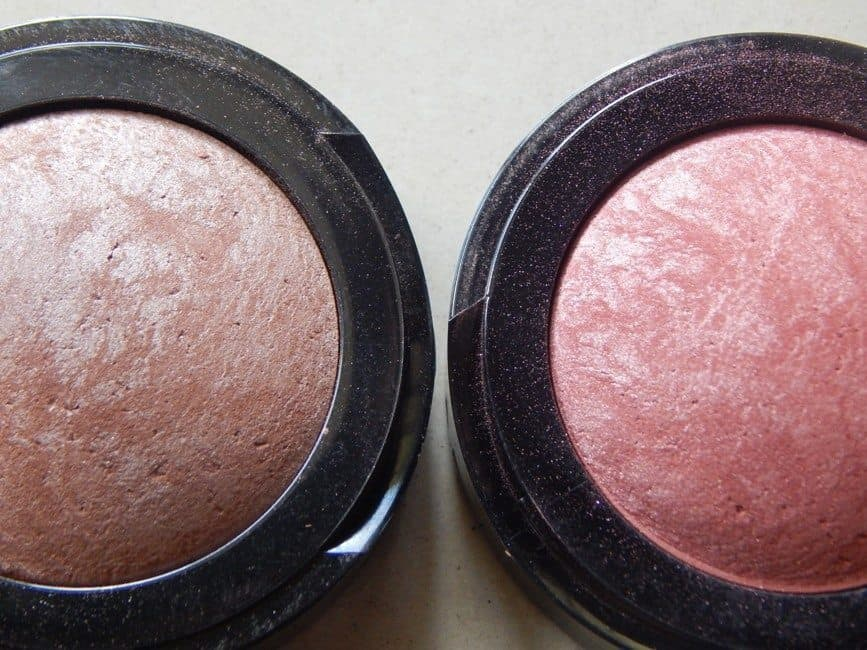 Deborah Milano Hi Tech Blushers Cacao and Paprika Review and Swatches 3