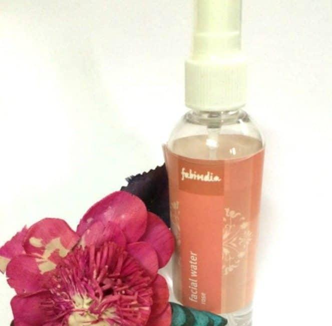 Fabindia facial water rose review 1