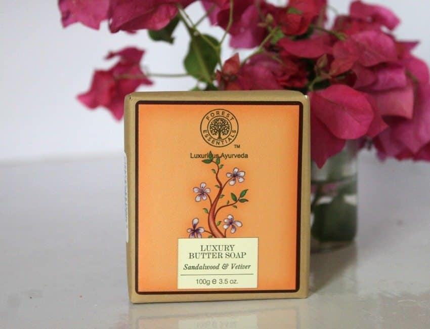Forest Essentials Luxury Butter Soap Sandalwood & Vetiver Review