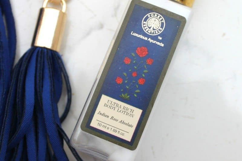 Forest Essentials Ultra-Rich Dazzling Body Lotion Indian Rose Absolute Review 1