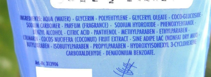 Fruttini Coco Banana Body Scrub Review 3
