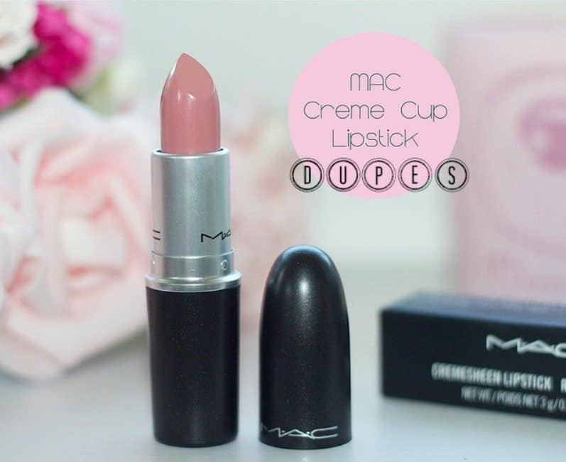 MAC Creme Cup Lipstick Dupes !! Sheer Pink Heaven ;)