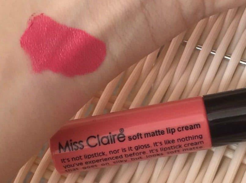 Miss Claire Soft Matte Lip Cream 05 Review 1