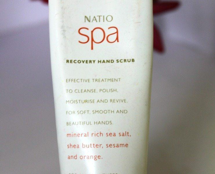 Natio Spa Recovery Hand Scrub Review 1