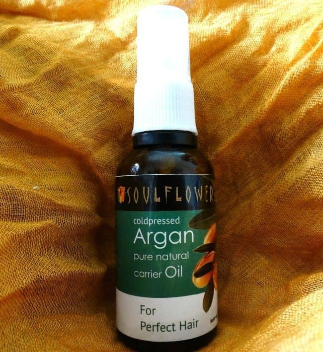 Soulflower Cold Pressed Pure Argan Oil Review 2