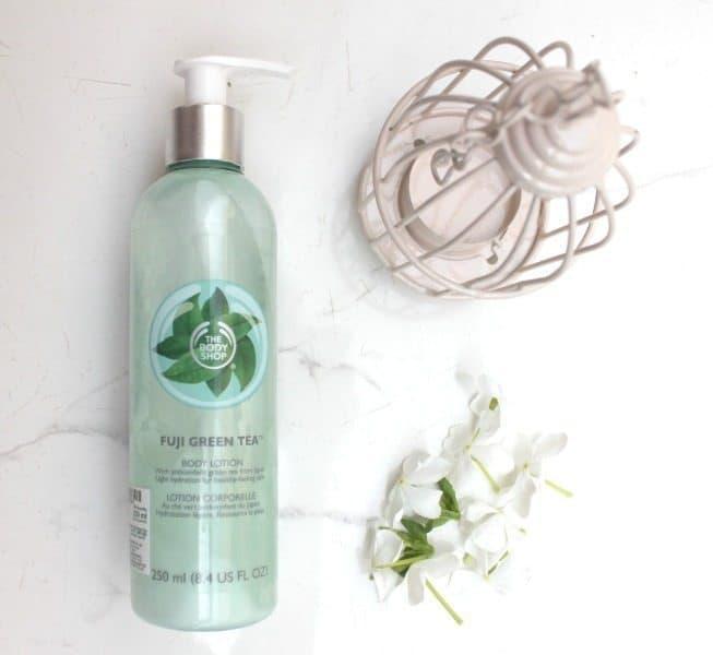 The Body Shop Fuji Green Tea Body Lotion Review