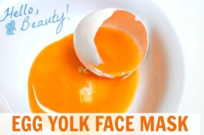 egg yolk bleach diy