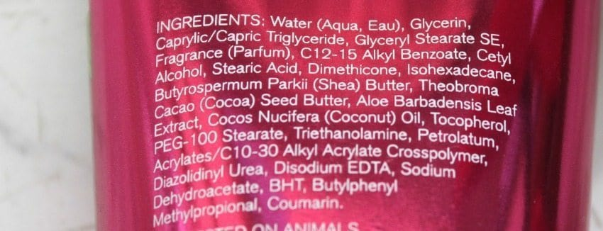 Bath and Body Works Bourbon Strawberry and Vanilla ultra Shea Body Cream Review 1