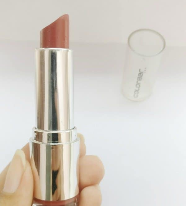 Colorbar Velvet Matte Lipstick Bare 58 Review 6