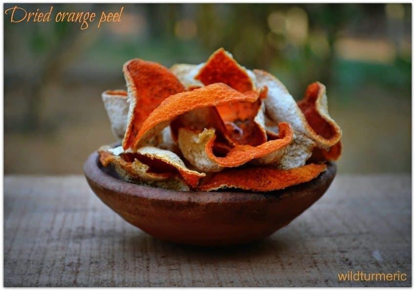 DIY Orange Peel Scrub
