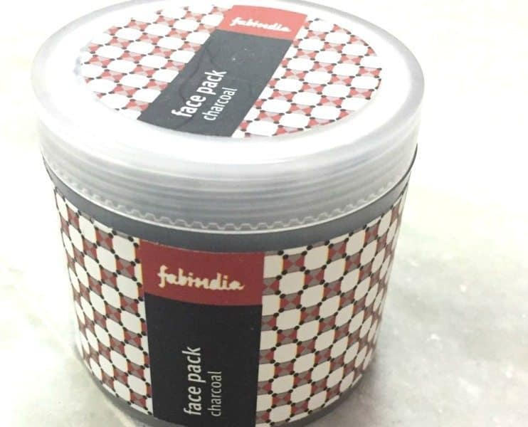 Fabindia Charcoal Face Pack Review 1