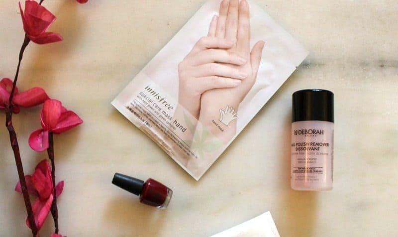 Innisfree Special Care Hand Mask Review 5