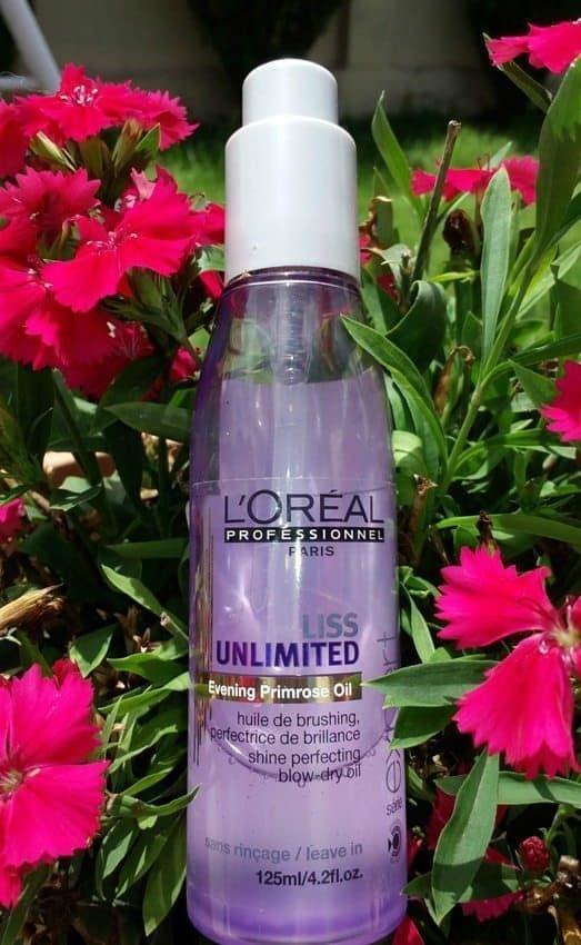 L'Oreal Professional Paris Liss Unlimited Evening Primrose Oil Review