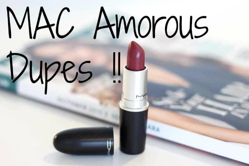 MAC Amorous Dupes 2