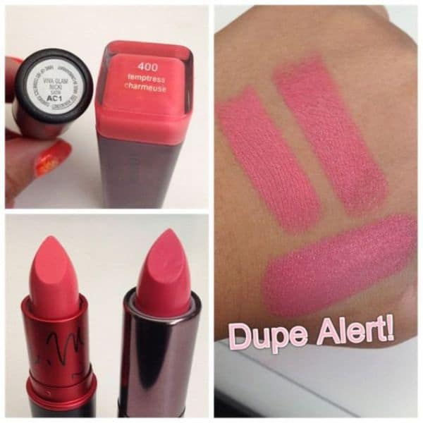 MAC VIVA GLAM NICKI DUPES 3
