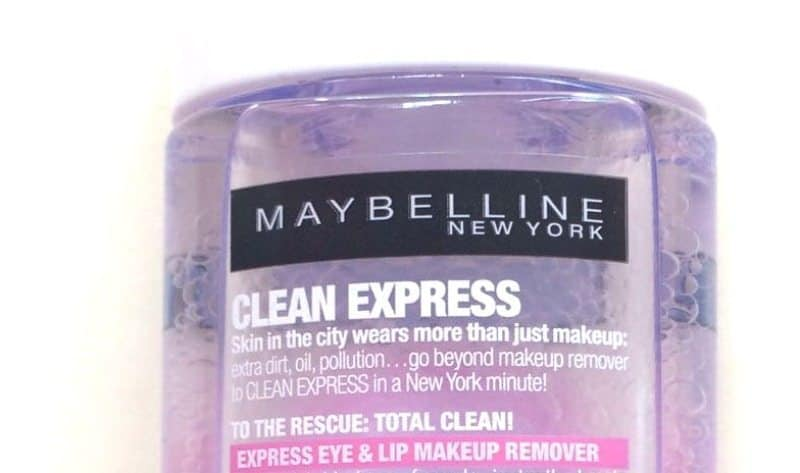 Maybelline Clean Express Total Clean Make-Up Remover 1