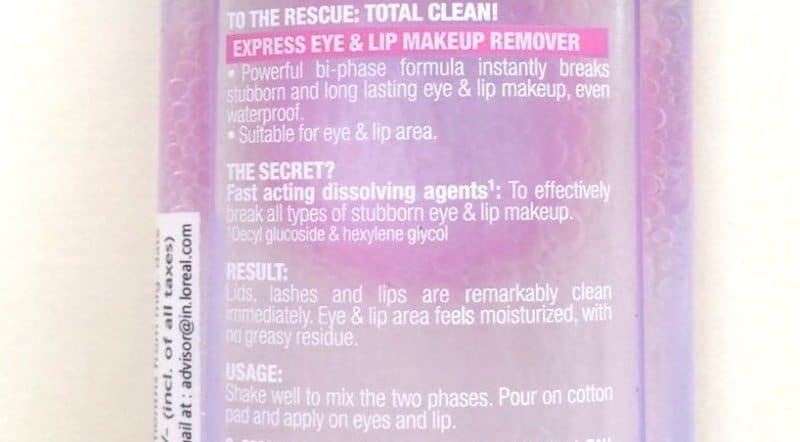 Maybelline Clean Express Total Clean Make-Up Remover 2