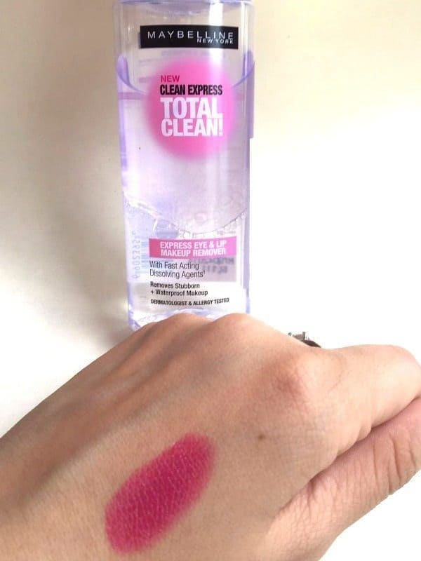 Maybelline Clean Express Total Clean Make-Up Remover 4