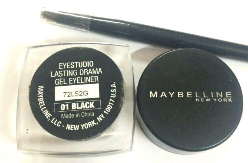 Maybelline Eye Studio Lasting Drama Gel Eyeliner (Black) Review