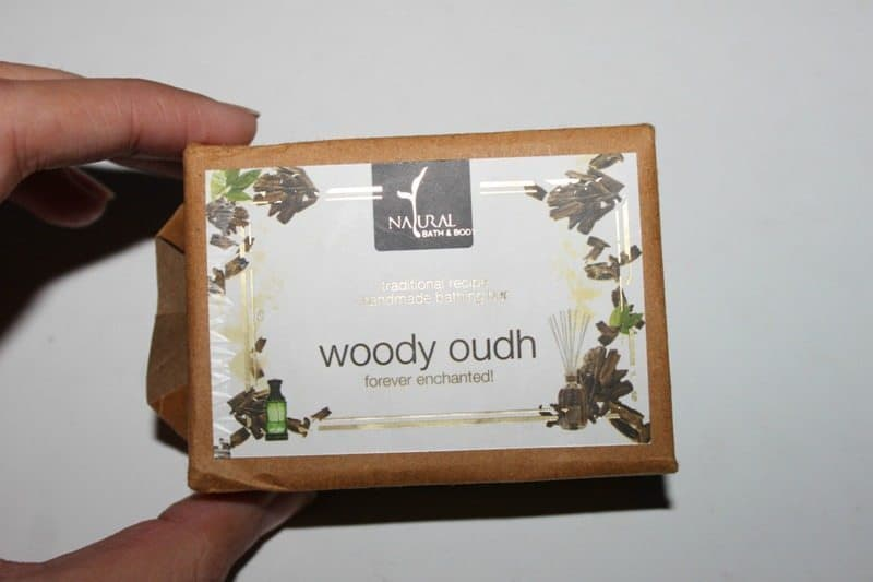 Natural Bath and Body Woody Oudh Bathing Bar Review 4