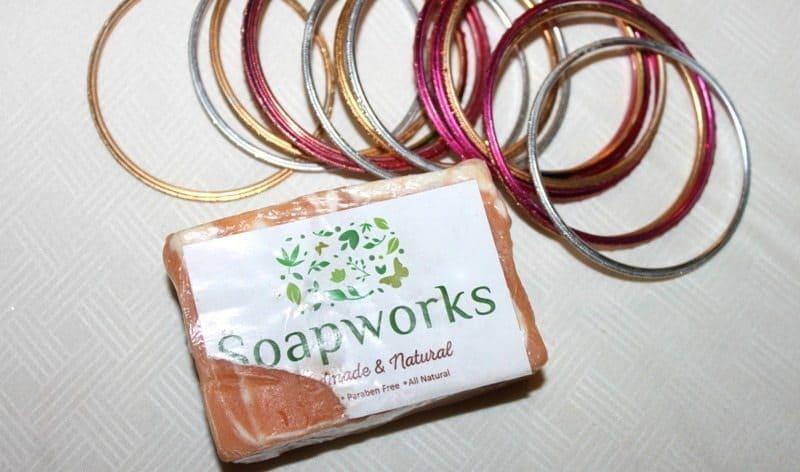 Soapworks India Turmeric and Sandalwood Soap (Haldi and Chandan) Review 1