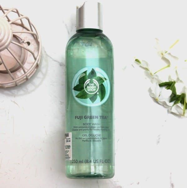 The Body Shop Fuji Green Tea Body Wash Review 4