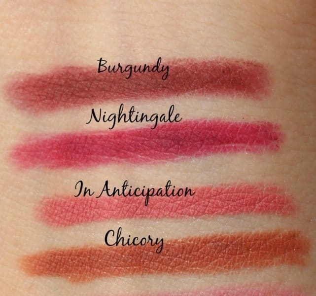 44 MAC Lip Pencils Swatches 3