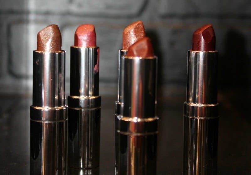 Colorbar Diamond Shine Lipsticks Rose Golden , Copper Citrine , Precious Coral , Natural Bronze ,Expensive Garnet 3