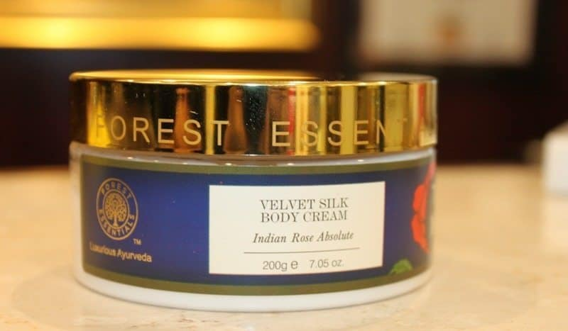 Forest Essentials Velvet Silk Body Cream Indian Rose Absolute Review