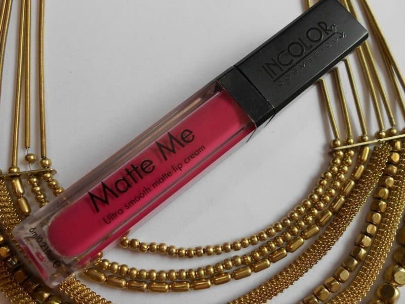 Incolor Matte Me Ultra Smooth Matte Lip Cream 401 And 415 Review and Swatches 1