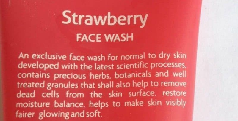 Jovees Strawberry Face Wash Review (1)