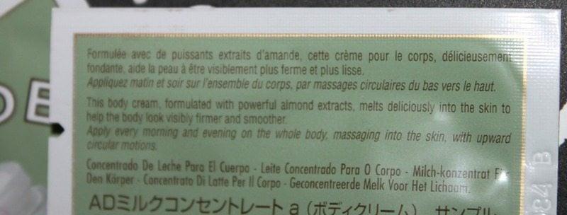 Loccitane Almond Milk Concentrate Review 2