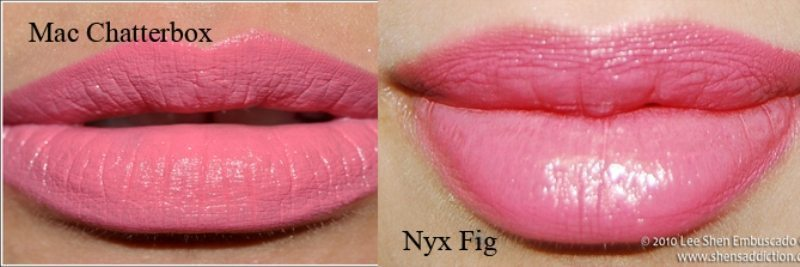 MAC Chatterbox Dupes 1