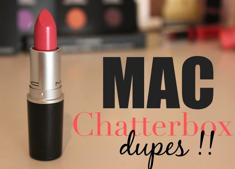 MAC Chatterbox Dupes 2