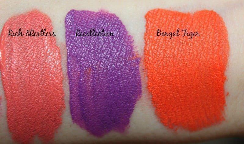MAC Transformed Liquid Retro Matte Lip Colors 1